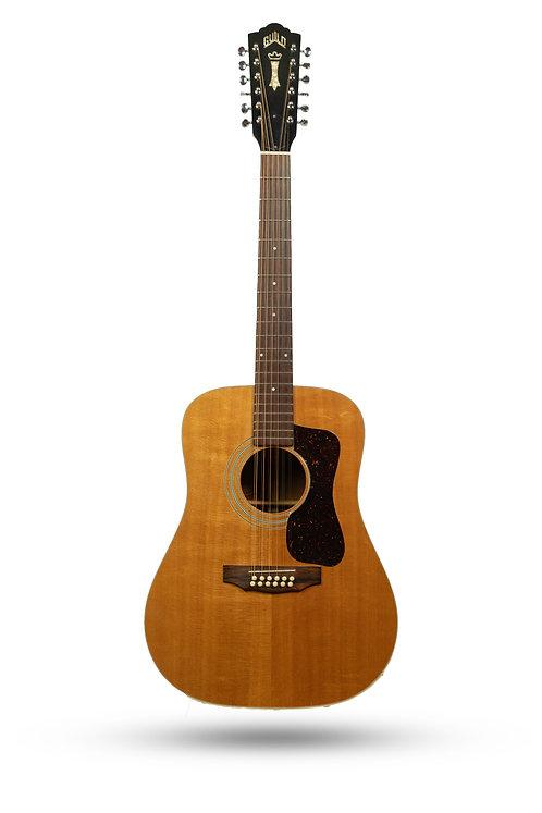 1978 Guild G212NT 12-String Natural