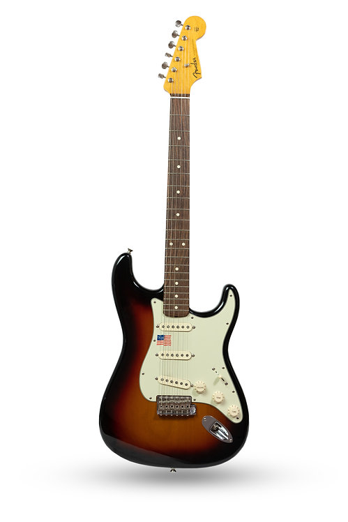 New Fender American Vintage '59 Stratocaster 3-Tone Sunburst
