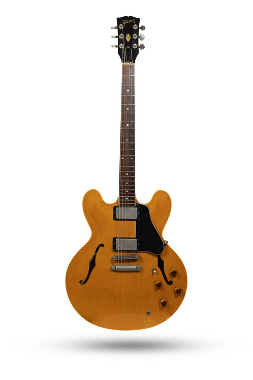 1983 Gibson ES-335 Heritage Dot Neck Blond