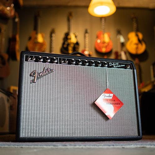 """New Fender '65 Deluxe Reverb 1x12"""" Black"""