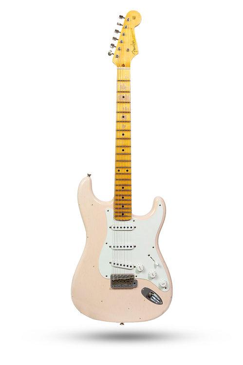 New 2017 Fender Custom Shop '55 Stratocaster Journeyman Relic Shell Pink