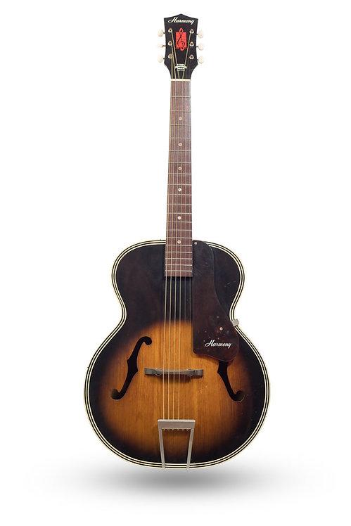 1960's Harmony H1215 Archtone Archtop