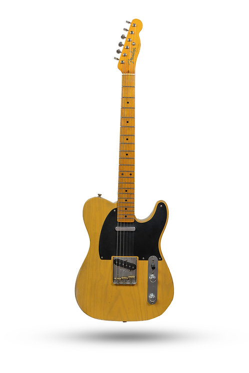 Used 2015 Fender American Vintage '52 Telecaster Butterscotch Relic