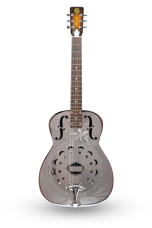 Used 1995 Dobro Duolian Resonator Chromed Brass