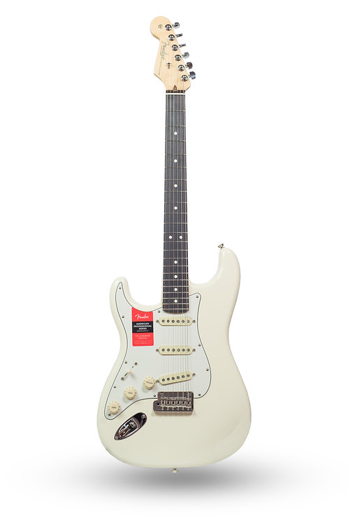 New 2018 Fender American Professional Stratocaster Olympic White