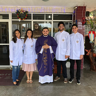 Visita ao Hosp. Padre Zé - JP