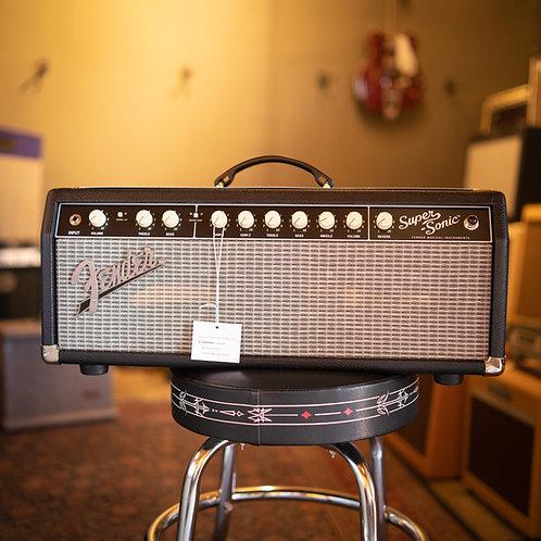 New 2020 Fender Super-Sonic 22 Tube Head Black