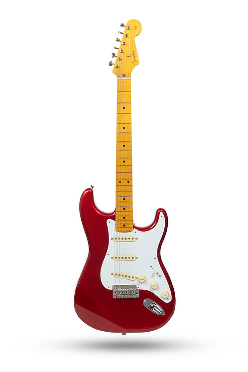 New Fender Classic Series 50's Stratocaster Lacquer Candy Apple Red