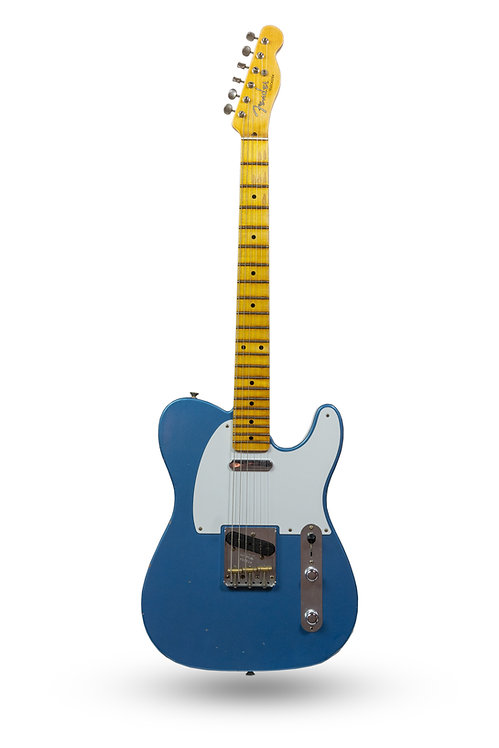 New 2019 Fender Custom Shop '55 Telecaster Journeyman Relic Lake Placid Blue