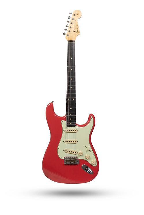 New 2019 Fender Custom Shop '62 Stratocaster Journeyman Relic Faded Fiesta Red