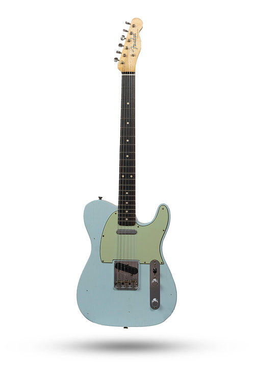 New 2019 Fender Custom Shop '60 Telecaster Journeyman Relic Sonic Blue