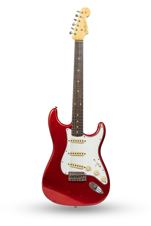 New 2018 Fender Custom Shop '63 Stratocaster Journeyman Relic Candy Apple Red