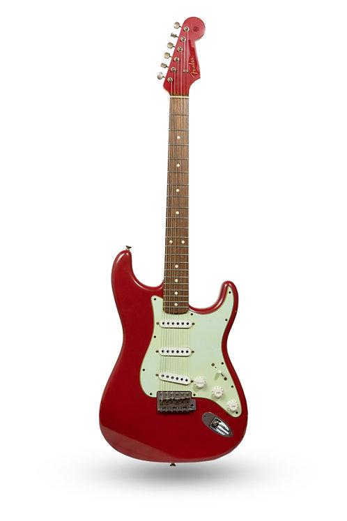New 2014 Fender Custom Shop '60 Stratocaster Journeyman Relic Dakota Red