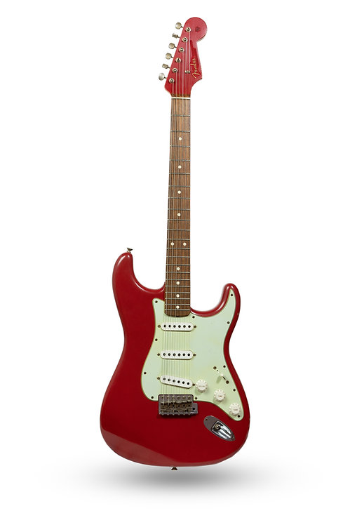 New 2014 Fender Custom Shop '60 Stratocaster Journeyman Relic Dakota Red