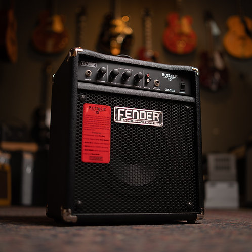 """New Fender Rumble 15 1x8"""" Bass"""