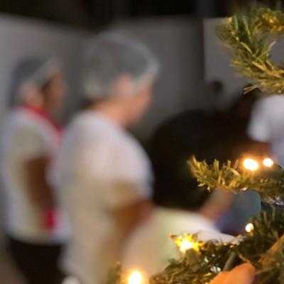 Ação de Natal - Com. Madalena
