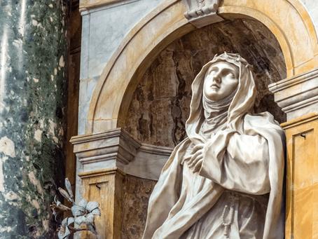 Santa Catarina de Sena, virgem, doutora da Igreja, padroeira da Europa e da Itália