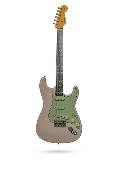 New Fender Custom Shop '60 Journeyman Relic Faded Shell Pink