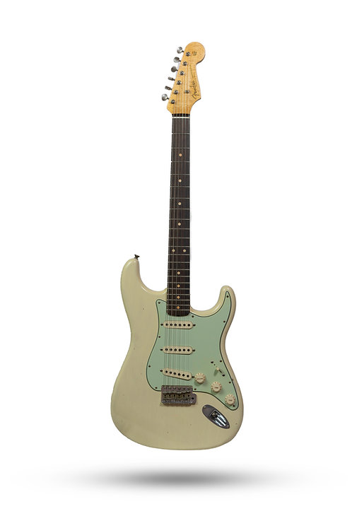 New 2019 Fender Custom Shop '60 Stratocaster Journeyman Relic Blond