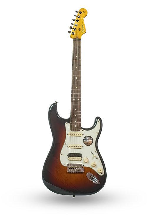 New Fender American Standard Stratocaster HSS Sunburst