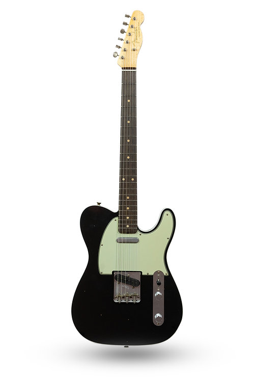 New Fender Custom Shop '60 Custom Telecaster Journeyman Relic Black