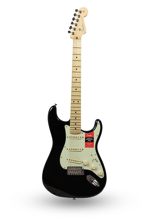 New Fender American Professional Stratocaster Black