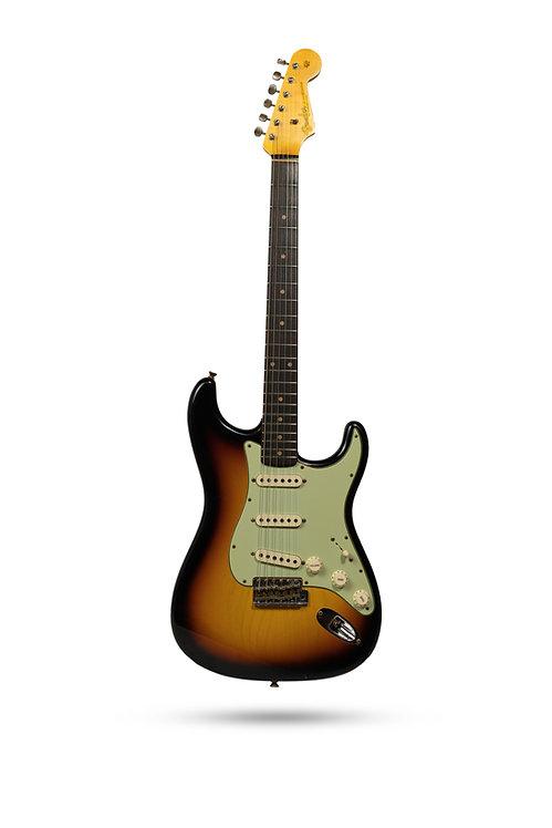 New Fender Custom Shop '60 Stratocaster Journeyman Relic Sunburst