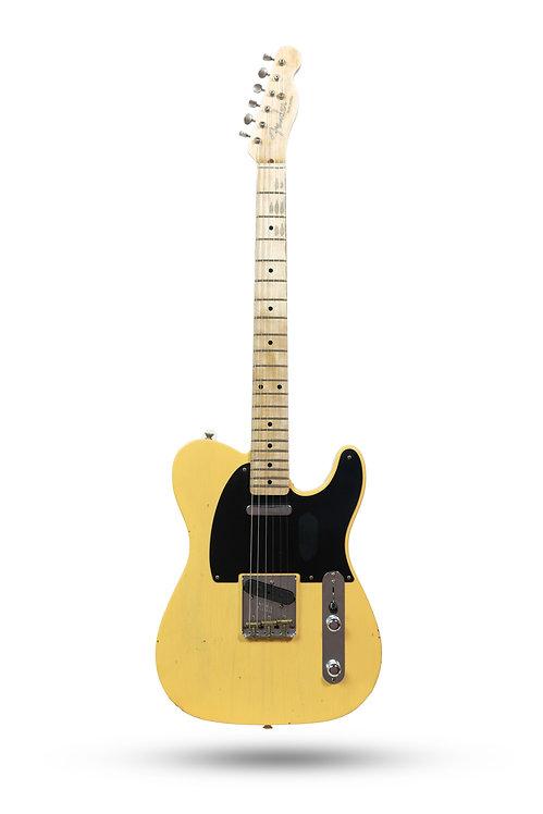 New 2019 Fender Custom Shop '52 Telecaster Journeyman Relic Butterscotch Blond