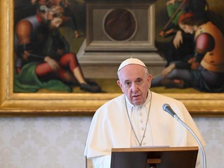 O Papa: olhar confiantes mesmo para os acontecimentos mais difíceis da nossa vida