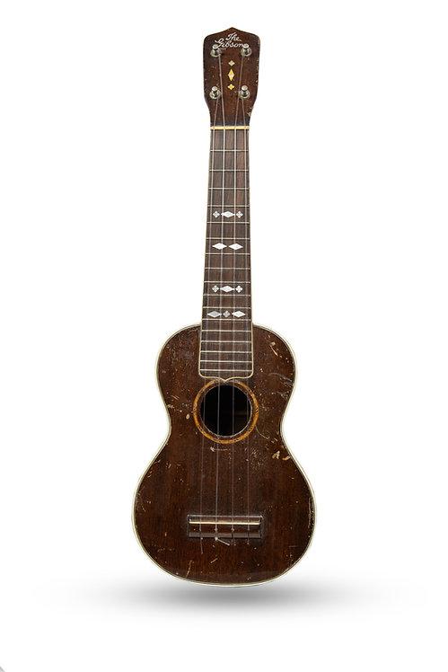 1930's Gibson Uke-3 Soprano Ukelele Mahogany
