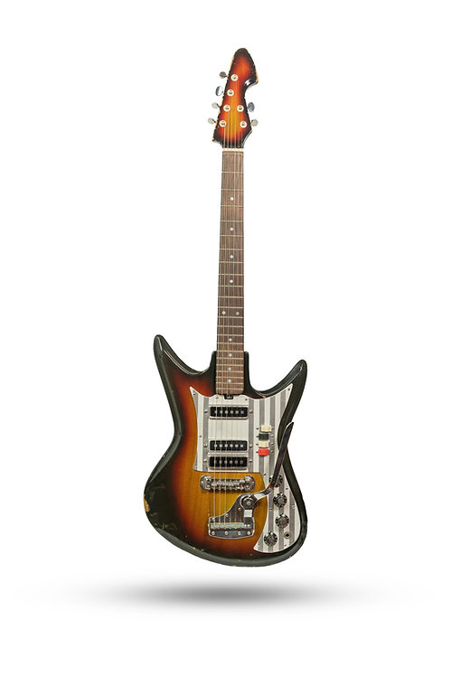 1960's Teisco Del Rey ET-312 Sunburst MIJ