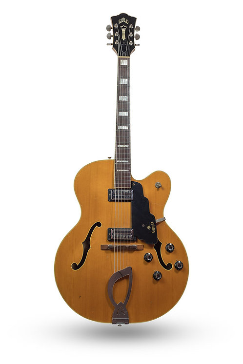 1967 Guild X-175 Archtop Natural
