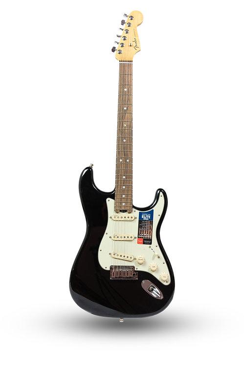 New 2016 Fender American Elite Stratocaster Black Sparkle