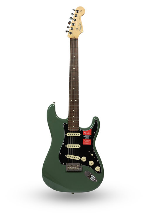 New Fender American Professional Stratocaster Antique Olive