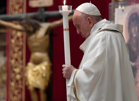 Íntegra da homilia do Papa na Missa da Vigília Pascal