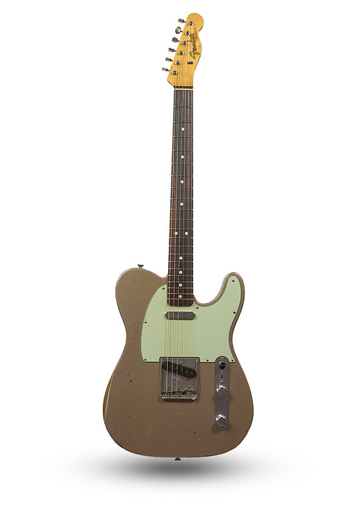 Used 2014 Fender Custom Shop '64 Telecaster Relic Shoreline Gold
