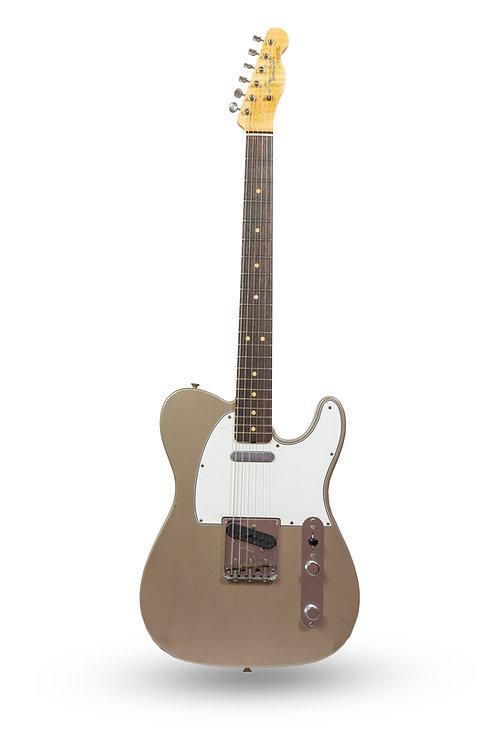 New 2018 Fender Custom Shop '63 Telecaster Journeyman Relic Shoreline Gold