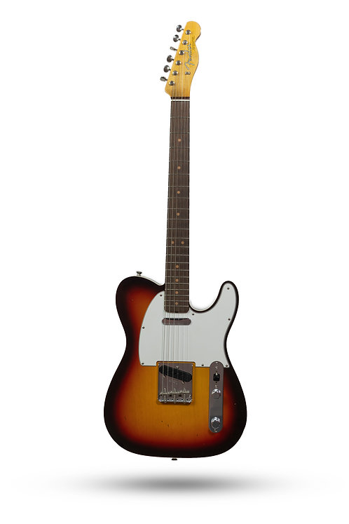 New 2018 Fender Custom Shop '63 Custom Telecaster Journeyman/NOS Sunburst