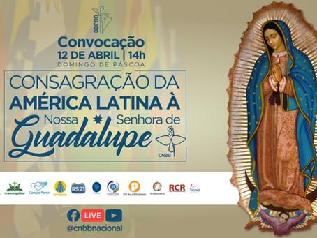 Junto com toda a Igreja da América Latina, CNBB promove consagração a Nossa Senhora