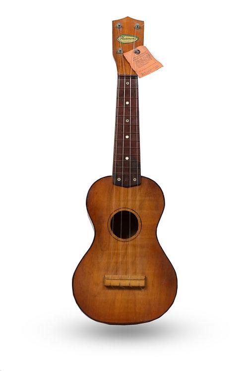 1960's Harmony Soprano Ukelele Sunburst