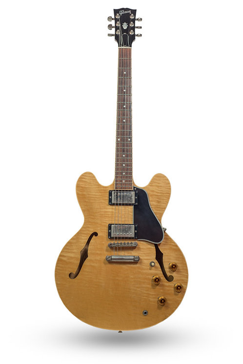 Used 2000 Gibson ES-335 Memphis Flame Maple