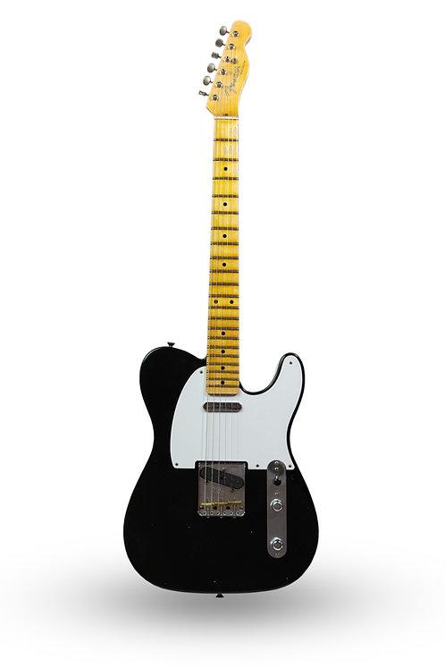 New 2018 Fender Custom Shop '57 Telecaster Journeyman Relic Black