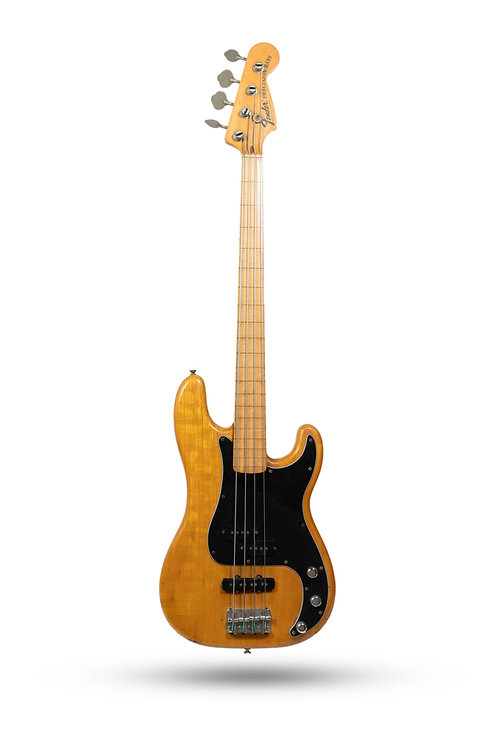 1974 Fender Precision Bass Fretless Natural