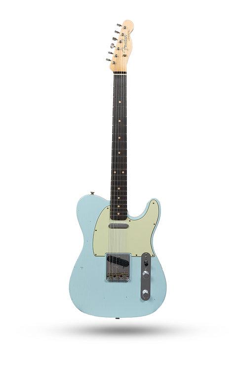 New 2019 Fender Custom Shop '62 Telecaster Journeyman Relic Sonic Blue