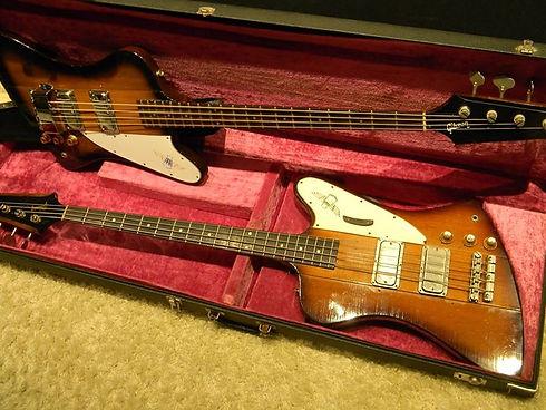 Bass- Gewitter__1976 und 1964 Gibson Thu