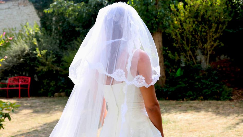 Traîne mariée