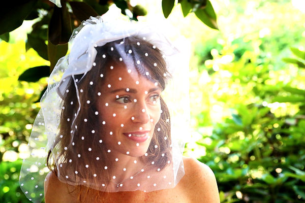 Chapeau de mariée