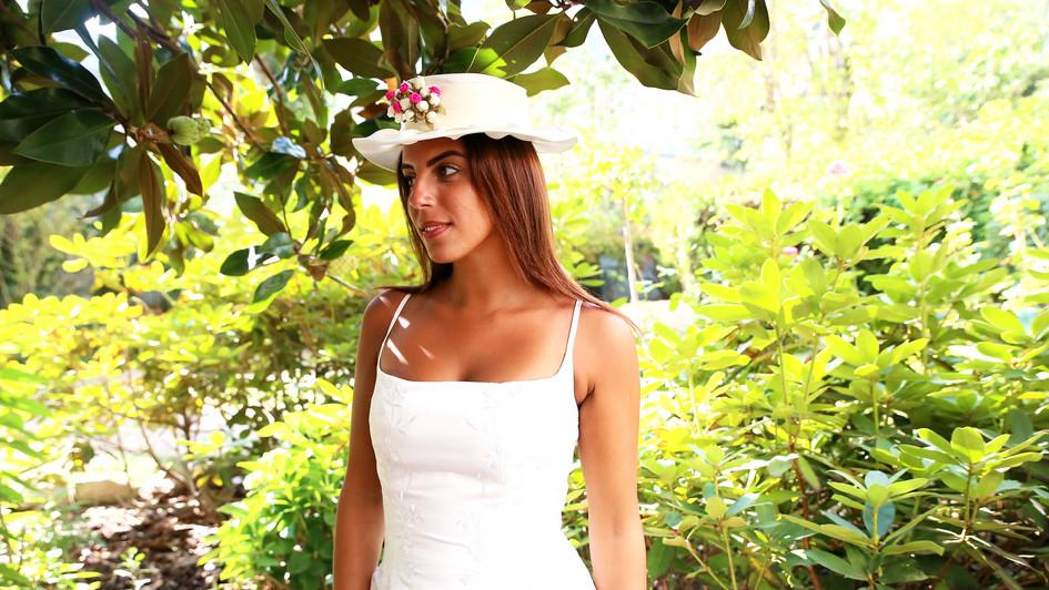 Chapeau fleur