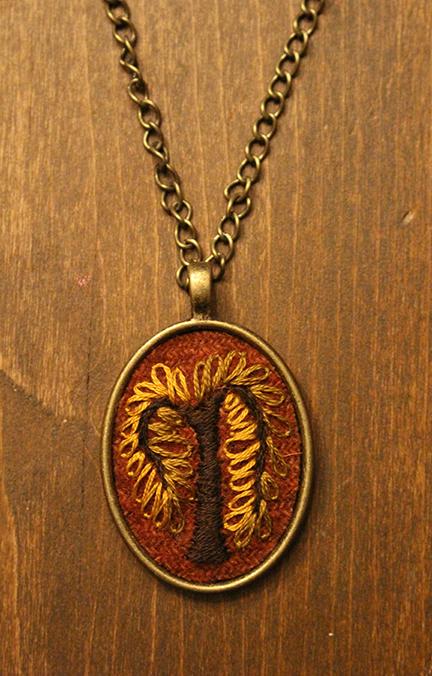 Tree Necklace