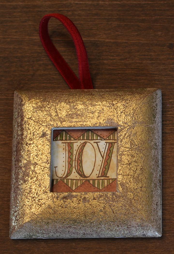 Joy Ornament 3